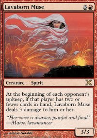 Magic: the Gathering - Lavaborn Muse (216/383) - Tenth Edition