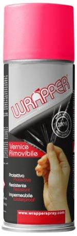 Quattroerre 16405 Wrapper Spray Vernici Rimovibili Tinta Ral 4003, Viola Erika Quattroerre Italia