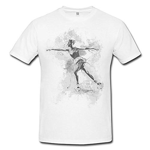 Eiskunstlauf II T-Shirt Herren, Men mit stylischen Motiv von Paul Sinus