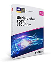 Bitdefender Total Security 2021 - 5 Devices | 1 year Subscription | PC/Mac | Activation Code by Mail