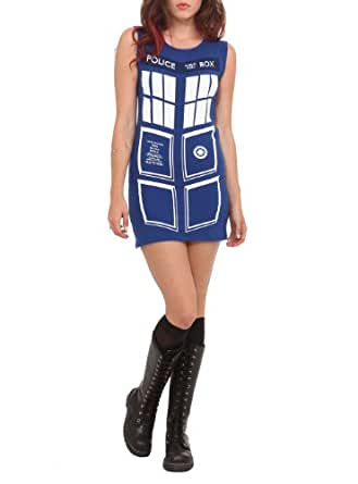 Doctor Who Her Universe TARDIS Dress Size : Small