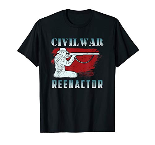 Civil War Reenactment Shirt & Gift