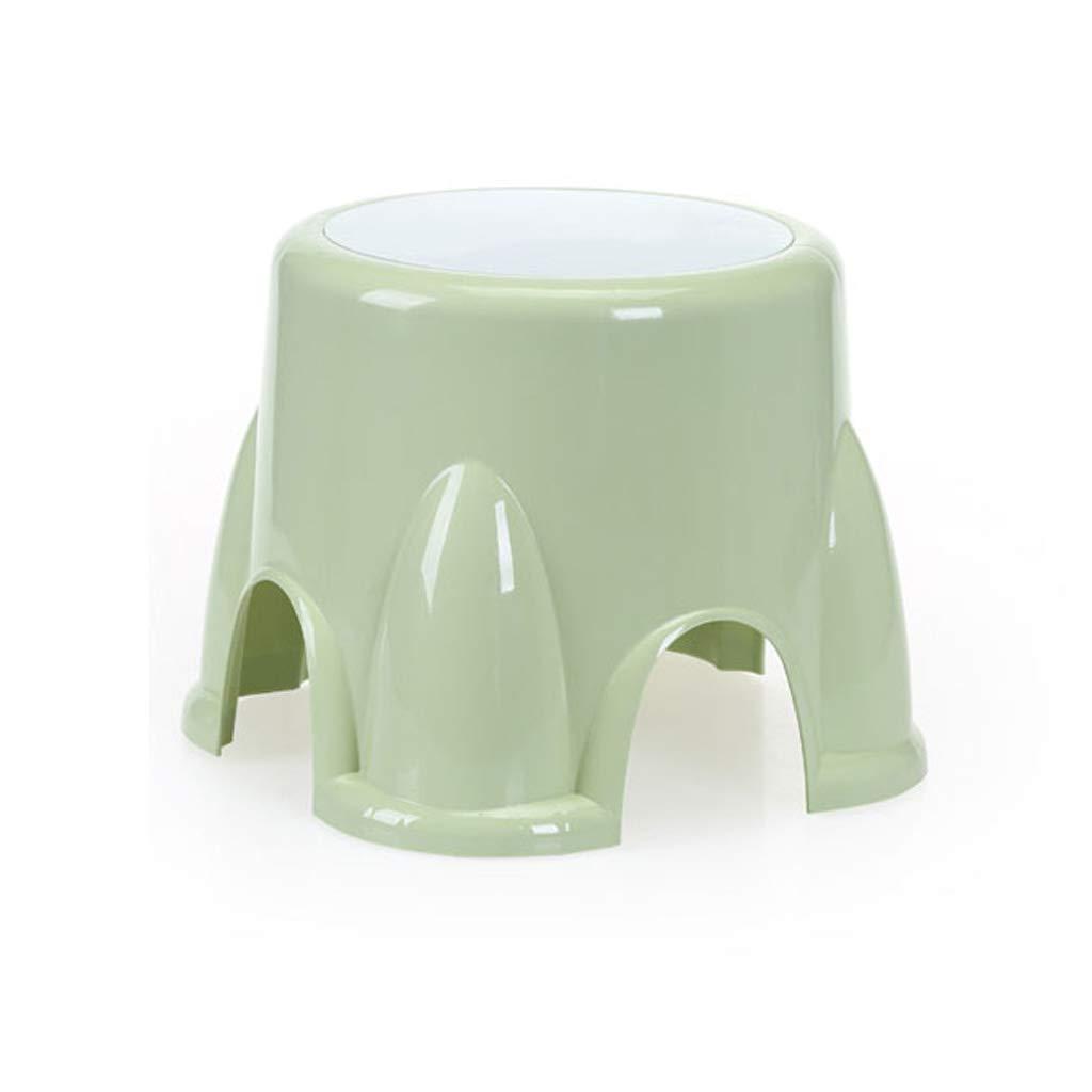 Venta al por mayor barato y de alta calidad. verde Small stool AS Taburete Taburetes Infantiles Taburete de plástico plástico plástico Taburete para niños Hogar Antideslizante Taburete  promociones de descuento
