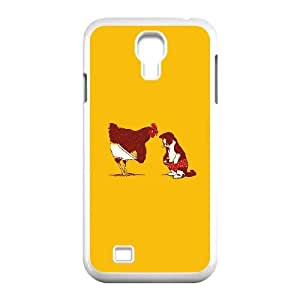 Samsung Galaxy S4 9500 Cell Phone Case White ah82 cat chicken underwear cute illust art OJ528500
