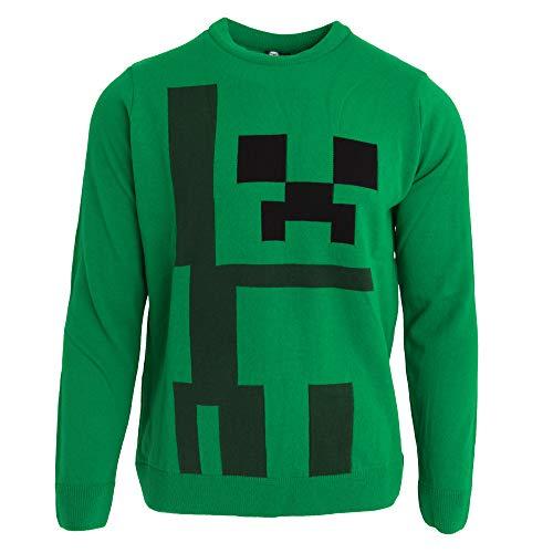Creeper Maglione Verde Unisex Maglione Minecraft Minecraft Verde Minecraft Creeper Unisex Creeper Maglione Tq8wxg8Sz