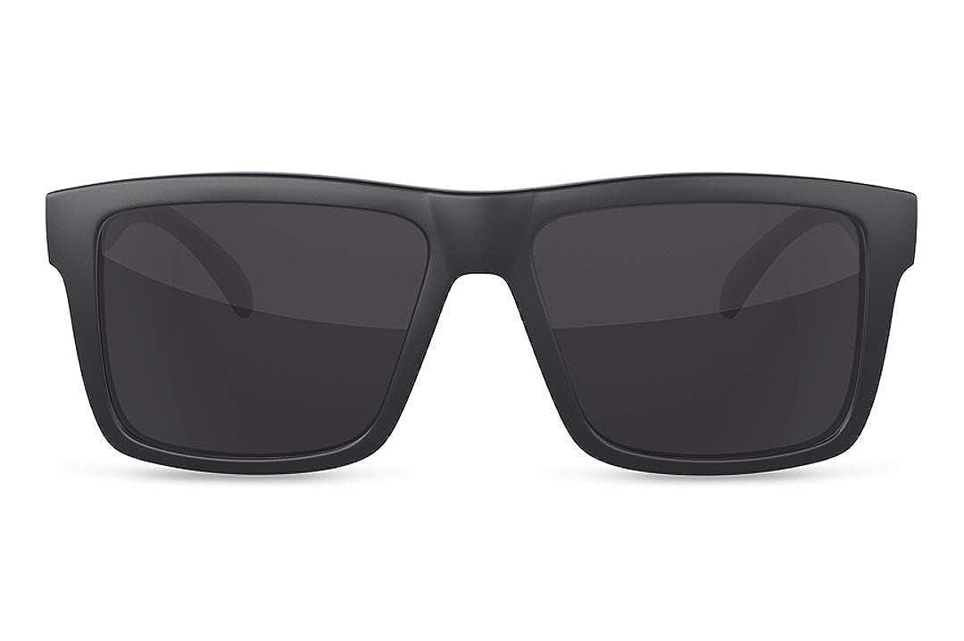 Amazon.com: Heat Wave - Gafas de sol, Negro, talla única ...