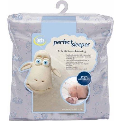 Serta Perfect Crib Mattress Cover, Sleeper Baby's Journey 2232