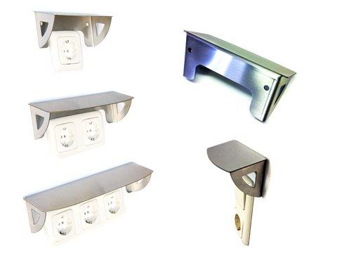 Schutzdach für Steckdose  Spritzschutz Abdeckung Wetterschutz Lichtschalter IP44