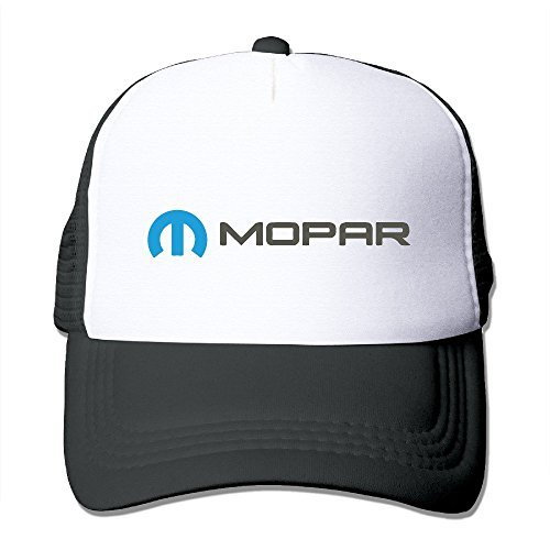 Viper Cloth (Cool Unisex Black Mopar Car SRT RAM Viper -E Mesh Caps Cap One Size)
