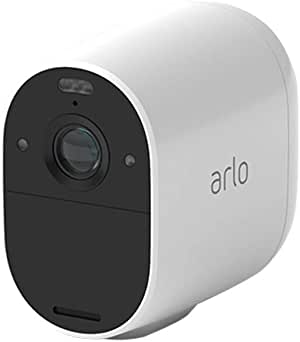 Arlo Technologies Essential Spotlight Camera - Wire-Free, 1080p Video, Colour Night Vision, 2-Way Audio, Motion Activated, Direct to WiFi, No Hub Needed, Works with Alexa (VMC2030-100AUS)
