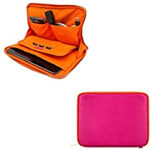 10.1-Inch Tablet Sleeve Pouch Bag Carrying Case for Acer Iconia One 10 / Iconia Tab 10 / Alcatel One Touch PIXI 3 10 / Apple iPad Pro 10.5 / Asus Transformer Book / Transformer Mini (Magenta)