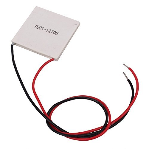 10Pcs TEC1-12706 40*40MM 12V 60W Heatsink Thermoelectric Cooler Cooling Peltier Plate Module by diymore (Image #4)