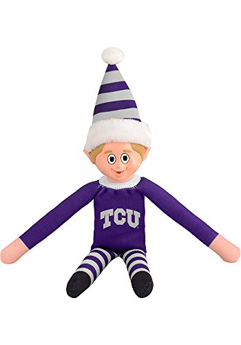Forever Collectibles Team Elves - Elf on a Shelf - 10 Inches - TCU Horned Frogs