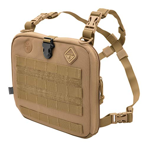 HAZARD 4 VentraPack 2-in-1 Molle Chest Pack/Slim Shoulder Bag - Coyote