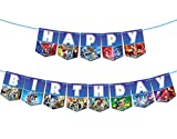 Beyblade Theme Happy Birthday Banner Gaming Party