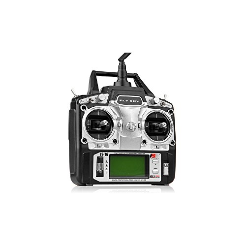 - FlySky FS-T6 2.4ghz Digital Proportional 6 Channel Transmitter and Receiver System
