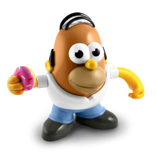 Mr Potato Head Homer Simpson Figure