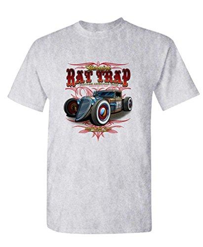 (The Goozler Rat Trap Vintage American Iron - Garage Gas - Mens Cotton T-Shirt, 3XL,)