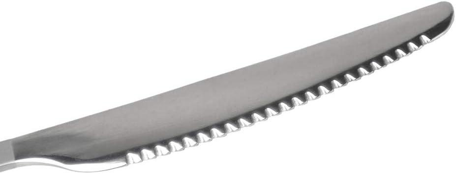 Lixada Cubiertos para Acampada Cuchara de Titanio Medio Pulido Cuchillo Tenedor para Picnic C/ámping al Aire Libre