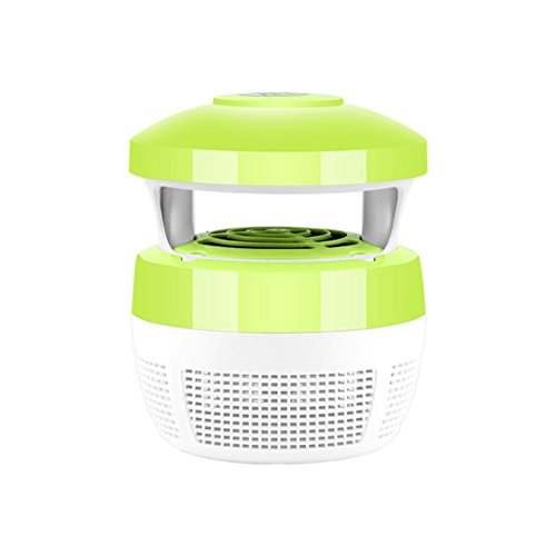 Green Day Trap - Owill Mosquito Killer Light 5W USB Smart Optically Controlled Insect Killing Lamp Household Light (Green)
