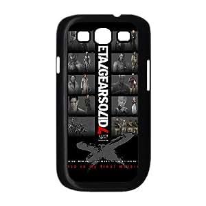 Metal Gear Solid 3 3 funda Samsung Galaxy S3 9300 Negro de la cubierta del teléfono celular de la cubierta del caso funda EOKXLKNBC28005