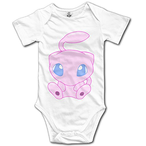 Price comparison product image Mew Psychic Pokemon Cute Clothing Baby Onesie