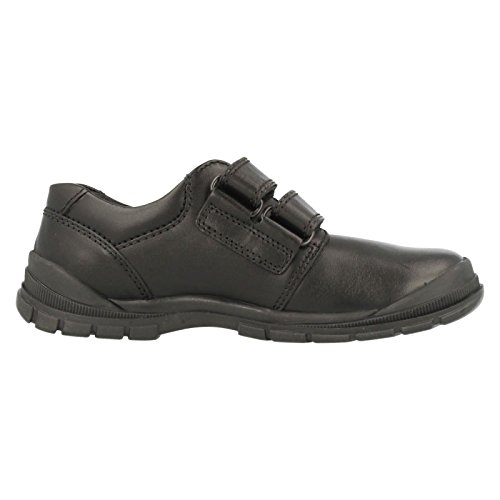 Size Startrite Scuff Black Boys 2h Shoes Resistant Leather Engineer School Of7Zqx8