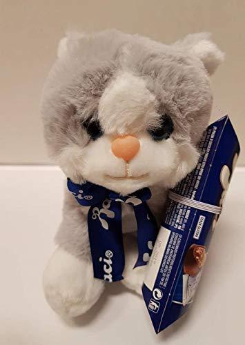 gatto peluche con tubo bacio perugina cioccolato fondente extra con ripieno  di nocciole 42 953a4c79964