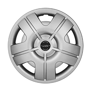 Lido Hub Caps / Wheel Trims 15 Inch for Volkswagen VW Polo 6N 9N 6R, Lupo, Caddy or Passat: Amazon.co.uk: Car & Motorbike