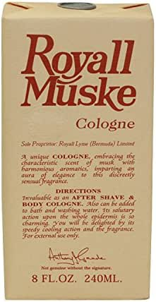 Royall Muske By ROYALL FRAGRANCES FOR MEN 8 oz All Purpose Lotion / Cologne