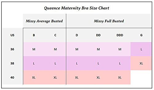 Queence Seamless Nursing Bra Women's Wireless Maternity Bras for Breastfeeding by Queence (Image #6)