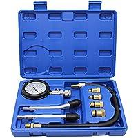 LLCTOOLS Compressiemeter, compressietester, testapparaat, benzinemotor, 0-20 bar of 0-300 psi verdichtingsmeter