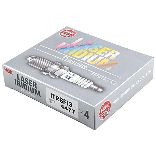 NGK Laser Iridium Z/ündkerzen Lager 4477 Kupferkern Tipp Standard 0,052in ITR6F13 Satz von 8 St/ück