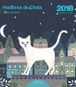 Editor 9972660044 Mini calendario historias de gatos de 2018 ...