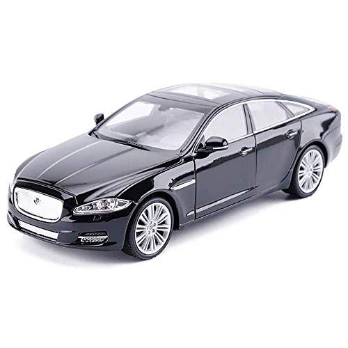 YaPin Modellauto 01.24 Automodell Jaguar XJ Auto-Modell-Legierung Auto-Modell-Simulation Automodell kann die Tür öffnen