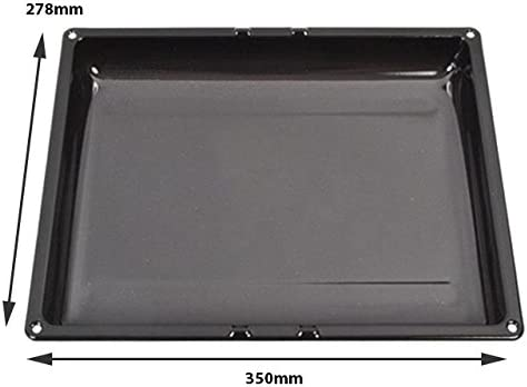 Spares2go XL esmaltada para horno y bandeja de horno (278 x 350 x ...