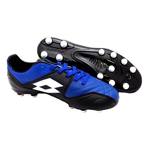 Lotto Sport Fuerzapura IV 300 FG - Zapatillas para hombre, color azul y negro