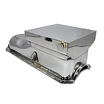 Assault Racing Products A9728 Big Block Chevy Chrome Drag Style 6qt Oil Pan BBC 396 427 454: Automotive
