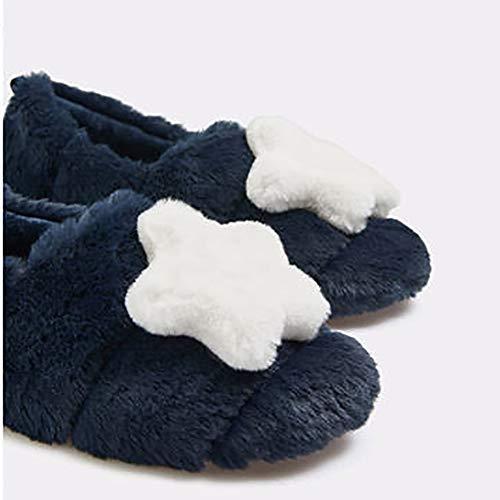 Morbido In E Piatte Pantofole Star Blue Cotone Antiscivolo Lavabile Dlbj Blu pantalone 0nXwxw