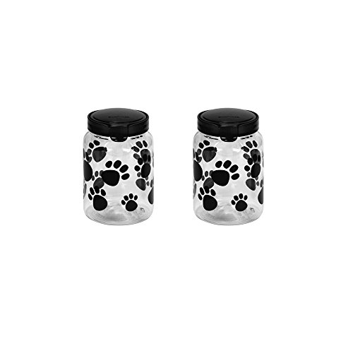 Snapware 1098567 Pet Treat Container- Set of 2 (Pet Treat Canister)