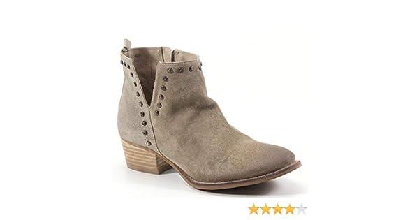 45b2834b24f Amazon.com: Diba True Short Order Studded V Cut Out Bootie: Shoes