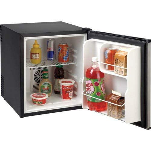 - Avanti Products SHP1712SDC-IS Compact AC/DC 1.7 cubic foot Refrigerator, feet, Stainless Steel