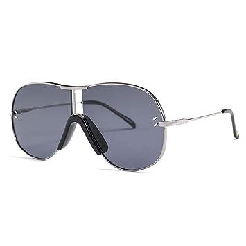 AAMOUSE Nueva Personalidad Gafas de Sol piloto Hombres ...
