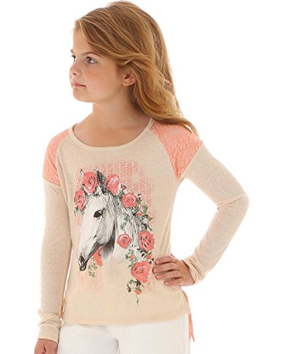 wrangler-girls-floral-and-lace-horse-long-sleeve-shirt-ivory-large