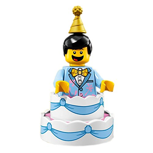 LEGO Series 18 Collectible Party Minifigure - Birthday Cake Guy (71021)