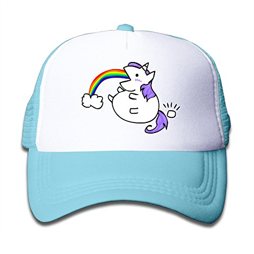 Baby Cute Fat Unicorn Boys And Girls A Grid Baseball Cap Can Be (Bowie Costume Ideas)