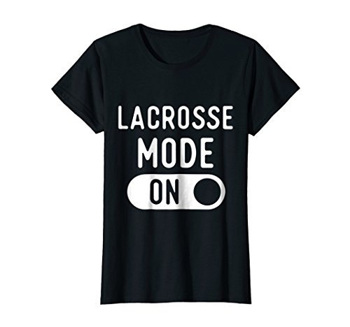 Womens Funny Lacrosse Mode T Shirts. Gifts Ideas for Fans & Players Large (Lacrosse T-shirt Sayings)