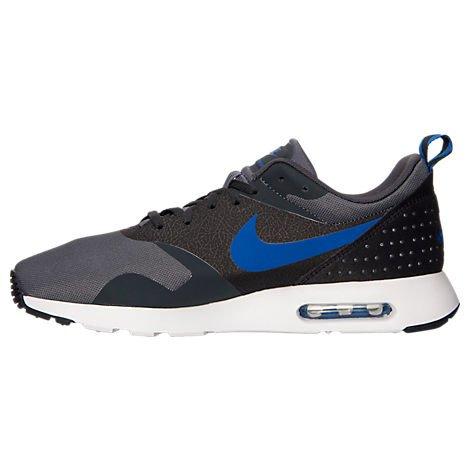 Nike Men's Air Max Tavas Fashion/Running Sneaker (12 D(M) US, Dark Grey/Anthracite/Black/Game Royal)