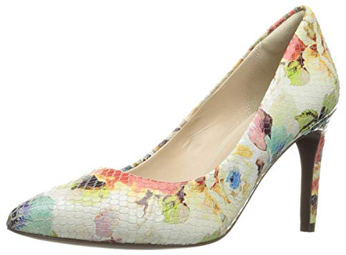 Cole Haan Women's Amela Grand 85mm Dress Pump, Floral Print, 7 B US W07353