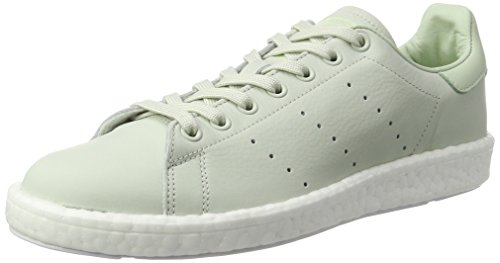 adidas Men's Stan Smith Boost Trainers Green (Linen Green/Linen Green/Linen Green) xlLRwd